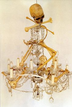 maybe this is something i can do with the old bent chandelier i have hanging around?! (Tim Walker)