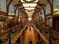 The Powerhouse Mall in West Lebanon, NH, OH! I miss your beautiful halls, Christmas season especially!