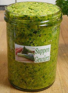 Suppenwürze selbst gemacht, ein leckeres Rezept aus der Kategorie Österreich. Bewertungen: 73. Durchschnitt: Ø 4,5.