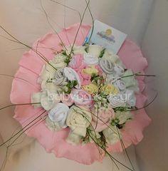 Επιλέξτε τιμή! Μπουκέτο - ανθοδέσμη με μωρουδιακά για νεογέννητα δίδυμα κοριτσάκια. Floral Wreath, Wreaths, Home Decor, Floral Crown, Decoration Home, Door Wreaths, Room Decor, Deco Mesh Wreaths, Home Interior Design