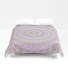 Cosy Bedroom Pastel Floral Circle Mandala Duvet Cover by David Zydd Home Decor Quotes, Home Decor Pictures, Cosy Bedroom, Bedroom Decor, Bedroom Ideas, Mandala Duvet Cover, Toddler Girl Bedding Sets, How To Dress A Bed, Vanity Decor