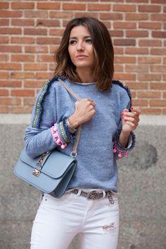 sweater: Mekdes (s/s 15) pants: Suiteblanco (old) bag: Valentino shoes: Zara (s/s 15) watch: Sheen de Casio