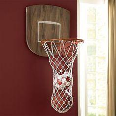 Sports Wall Organization - Basketball Hoop #pbteen