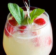 Cocktail Framboise Limoncello Prosecco