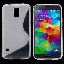 Forro Gel Samsung Galaxy S5 Sline Transparente  $ 14.500,00