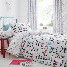 bluezoo Pandas duvet set- | Debenhams