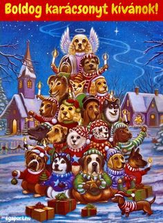 Canine Christmas Tree Jigsaw PuzzleCanine Christmas Tree Jigsaw Puzzle - Can you spot all of the different dog breeds in this fun Christmas puzzle? These beautifully illustrated jigsaw puzzles are perfect for passing the time in anticipation of Christmas. Christmas Jigsaw Puzzles, Christmas Puzzle, Christmas Poems, Christmas Puppy, Christmas Scenes, Christmas Animals, Christmas Pictures, Kids Christmas, Vintage Christmas