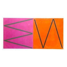 Orange & Pink Abstract by Joaquim Chancho (59 885 ZAR) ❤ liked on Polyvore featuring home, home decor, wall art, framed wall art, orange home accessories, geometric wall art, pink flamingo wall art and pink home decor