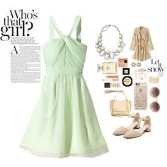 #Spring-Cute Outfit#