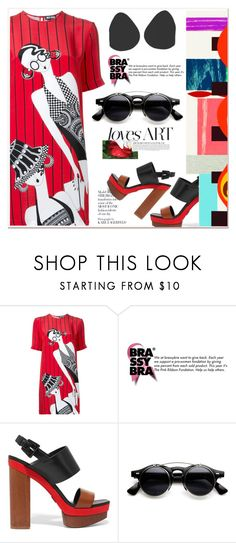 """""""28. Love art (Brassybra)"""" by sena87 ❤ liked on Polyvore featuring Holly Fulton and Michael Kors"""