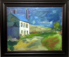 Landscape And One Further Study 1906-1996 - Pastel Active Gilbert Adams Frps