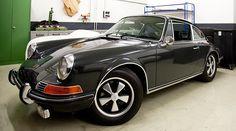 Steve McQueens Porsche 911 S @ Porsche Classic Werkstatt