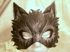 I found 'Custom Leather Wolf Mask by MirabellaTook on Etsy' on Wish, check it out!