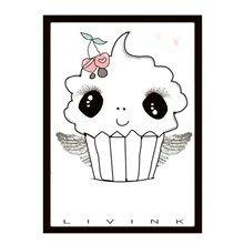 Livink Cupcake Plakat