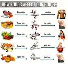 How food affects our bodies! Eat to fuel your body properly! :)