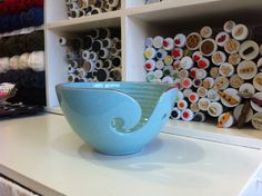 Yarn Bowls - by Morris and James Pottery
