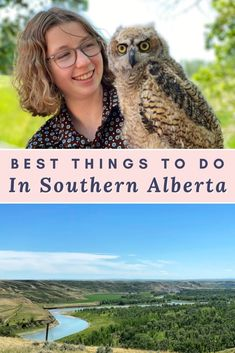 From meeting birds of prey to exploring the coulee valleys of Lethbridge, here are the best things to do in Southern Alberta. Alberta Travel l Southern Alberta l Travel Guides, Travel Tips, Travel Destinations, Travel With Kids, Family Travel, Central America, North America, Alberta Travel, Canadian Travel