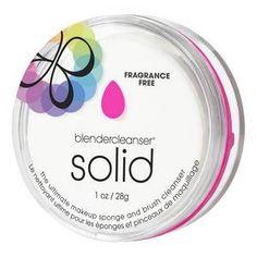 Blendercleanser Solid Fragrance-Free - Mydło do mycia gąbek i pędzli - BEAUTY BLENDER