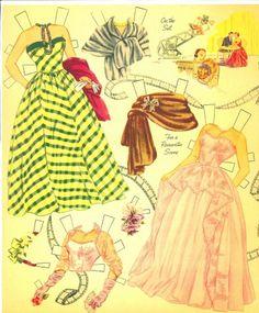 1952 Elizabeth Taylor paper doll clothes / eBay
