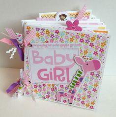 Scrapbook Mini Album Baby Girl