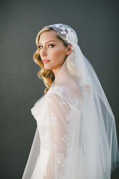 Juliet Cap Veils... Handmade CUSTOM wedding veils and bridal accessories by Veiled Beauty! www.veiledbeauty.com Photo By: http://imagesbyabbi.com Hair & MUA: http://beautybymelina.com