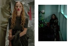 Fashion Editorial - The Claw Fashionbook Stylist - Benoit Guinot
