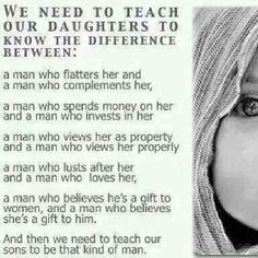 We need to teach our daughters/sons
