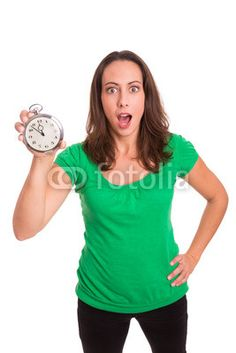 Girl is shocked about time! Time Is Money, Money