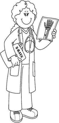 doctor coloring pages pinterest - photo#8