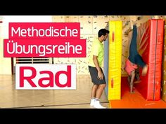 RAD METHODISCHE ÜBUNGSREIHE | Handstützüberschlag Seitwärts | Bodenturnen | Wie lerne ich ein Rad | - YouTube Kids Gym, Videos, Youtube, Physical Education Lessons, Gymnastics, School, Video Clip