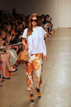 FOUREYES - New Zealand Street Style Fashion Blog: NYFW 2013 - KAREN WALKER SS14