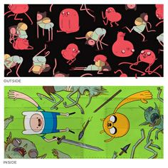 Adventure Time - Pendleton Ward Wallet ; Seriously, i'm planning to spend 20 bucks to avail this--sheesh.
