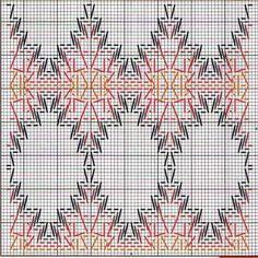 Foto: Cross Stitch Charts, Cross Stitch Designs, Cross Stitch Patterns, Bargello Needlepoint, Needlepoint Patterns, Weaving Designs, Weaving Projects, Swedish Embroidery, Hand Embroidery