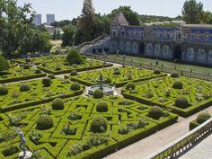 The Garden of the Palacio De Fronteira, Lisbon, Portugal