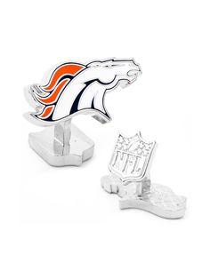 Palladium Denver Broncos Cufflinks