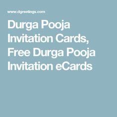 Durga Pooja Invitation Cards, Free Durga Pooja Invitation eCards Durga Puja, Invite Your Friends