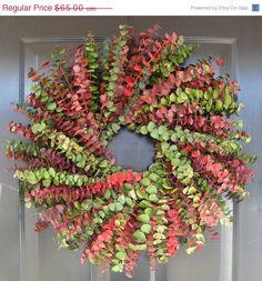 Eucalyptus WreathCustom Preserved 20 Inch Wreath by ElegantWreath, $58.50