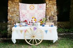 Kara's Party Ideas | Kids Birthday Party Themes: american girl pioneer birthday party