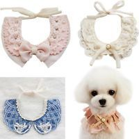 New Dog Fake Collar Princess Cat Puppy Lace Necklace Tie-On Strap Pets Supplies