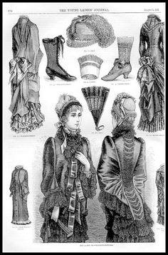 1881 Vintage Fashion Plates - The Young Ladies Journal No.…   Flickr