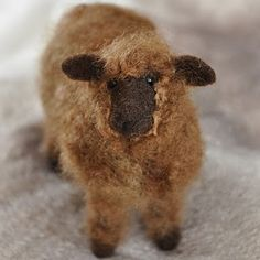 Felted sheep.