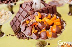 #Chocolate y #fruta para reponer fuerzas en el inicio de la semana // Chocolate and #fruit to start the week with energy. | Goyo Full Taste #PuertoBanus (2014)