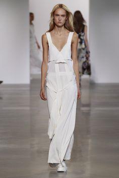 Calvin Klein Look 25 via @WhoWhatWear