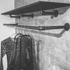 DIY – Design your own clothes rack at RackBuddy – Rackbuddy.de - Decoration For Home Attic Master Suite, Attic Bedroom Small, Attic Playroom, Attic Rooms, Attic Spaces, Attic Office, Attic Apartment, Apartment Therapy, Diy Design