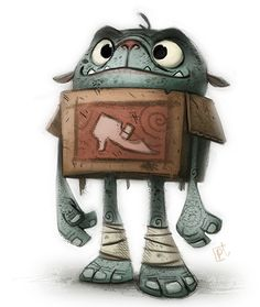 cryptid-creations: Day 699. #boxtrolls @Sketch_Dailies by Cryptid-Creations