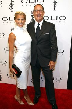 Pin for Later: 17 Celebrities Who Got Married Later in Life  Jerry Seinfeld was 45 years old when he wed his wife, Jessica, on Christmas Day 1999.