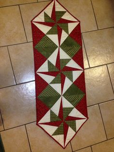This table runner I am keeping for myself!