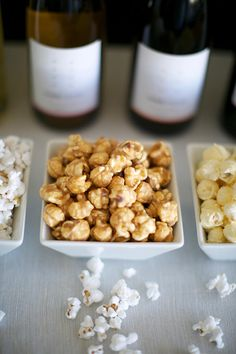 The wine + popcorn combos you need at your Oscars party!