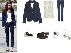 smythe blazer, j brand jeans, Miss KG wedges.