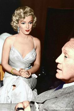 Marilyn Monroe y Jack Benny 1953